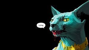 lying cat is not pretty