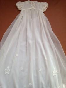 N's baptism dress